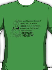 Arise riders of Théoden! T-Shirt