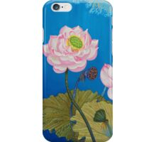 Left Part Of The Triptych Ripple Effect iPhone Case/Skin