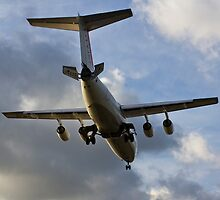 British Aerospace BAE 146 by DavidHornchurch