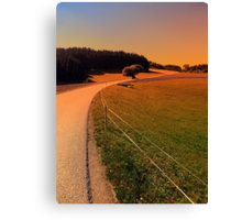 Hiking trip in summer time | landscape photography Canvas Print
