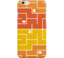 Mazes and patterns: retro game iPhone Case/Skin