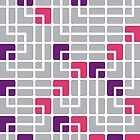 Mazes and patterns: rounded corners by digitalstoff