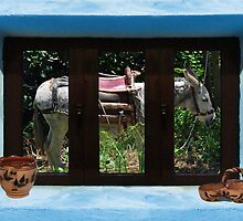 Window Into Greece 2 by Eric Kempson