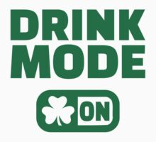 Drink mode on shamrock by Designzz