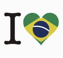 I Love Brazil by artpolitic