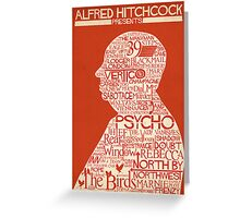 Alfred Hitchcock Presents... Greeting Card
