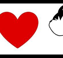 I Heart Chip 'n' Dale (Classic Logo) by ShopGirl91706