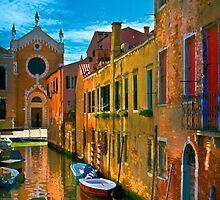 Italy. Venice motorway by JessicaRoss