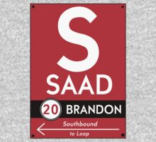 Retro CTA sign Saad by mightymiked
