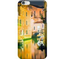 Italy. Venice in yellow iPhone Case/Skin