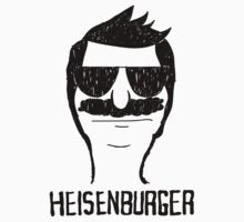 Breaking Bob - Heisenburger shirt sticker phone case by Matt Teleha