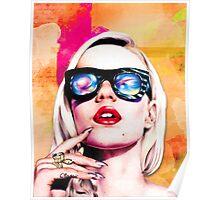 Iggy Azalea- Orange/Pink Poster