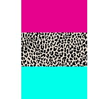 Leopard National Flag Photographic Print