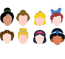 All the Princesses by Anna Flynn