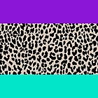 Leopard National Flag III by Mary Nesrala