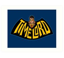 Time Lord Logo Art Print