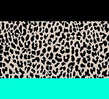 Leopard National Flag VII by Mary Nesrala