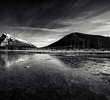 Mt Rundle and Vermillion Lakes by Jai Honeybrook