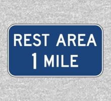 Rest Area Sign by cadellin