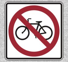 No Cyclists by cadellin