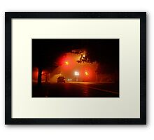 What On Earth Were We Doing At 2:30am? Framed Print