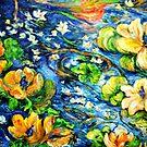 Lily Pond in Motion by Barbara Sparhawk