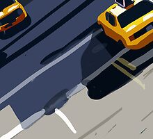 Taxis No. 1 from the Migration Series by Jimmy Sellars
