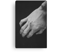 A Geometric Framework Canvas Print