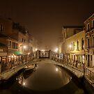 Winter mist in Venice by Jai Honeybrook
