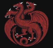House Targaryen Minimalist Kids Clothes
