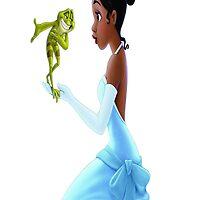 Tiana and Naveen by lunakush