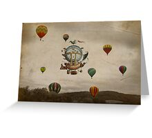 La Minerve 1803 travel in style Greeting Card