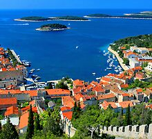 Croatia Coastal line by JessicaRoss