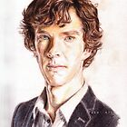 Sherlock - Color Pencils by PashArts