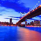New York City Skyline Bridge by JessicaRoss