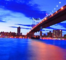 New York City Skyline Bridge by JessicaRoss