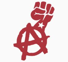 Anarchist Fist Stickers by NeoFaction