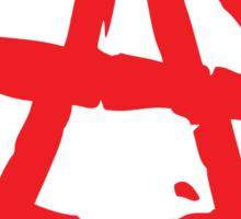 Anarchy Symbol Stickers Sticker