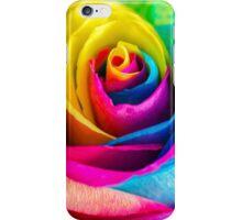 Rainbow Rose iPhone Case/Skin