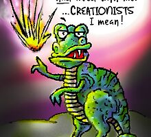 I wish Creationists were here! by atheistcards