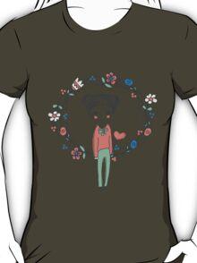 hand-drawn Love T-Shirt