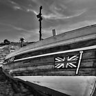 Boat at North Landing - North Yorkshire by Paul Bettison
