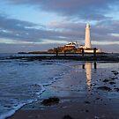 Shoreline, St Mary's Lighthouse by John Dunbar