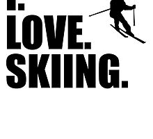 I Love Skiing by kwg2200