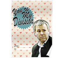 Lestrade Valentine's Day Card Poster