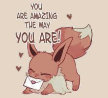 Eevee Valentine's Day Card by everlander