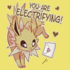 Jolteon Valentine's Day Card by everlander