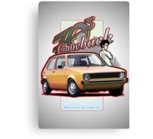 Comeback 70s - Oldtimer Car Canvas Print