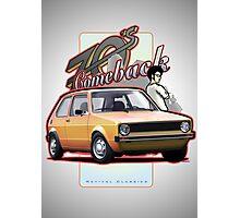 Comeback 70s - Oldtimer Car Photographic Print