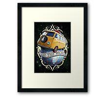 Cross the World - Bus T1 Framed Print